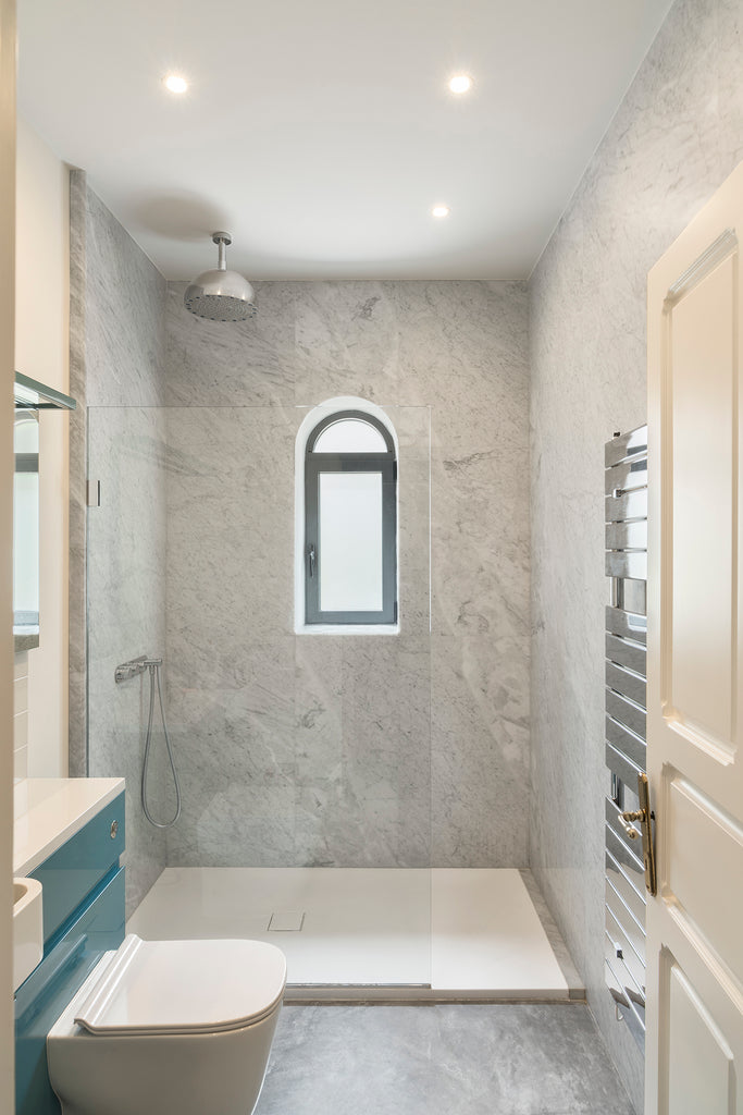 bianco carrara c wall cladding floor bathroom