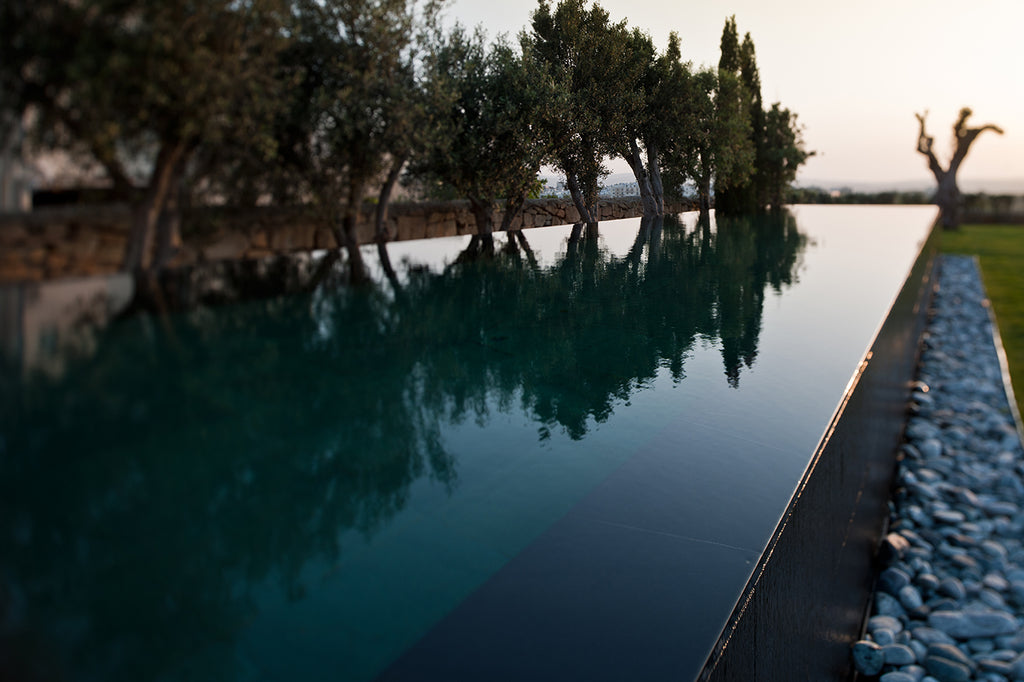 infinity pool copping slate Malta natural stone