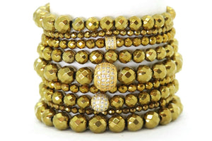 Liquid Gold - Your Goddess Stack Bracelets