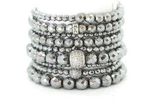 Liquid Silver Stack - Your Goddess Stack Bracelets