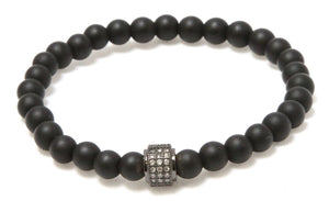 Moon Light Stack: Black Onyx Bracelets Bracelets