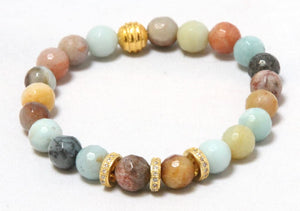 Night Skys - Soft Color a bit of Bold and Gold Bracelets Bracelets