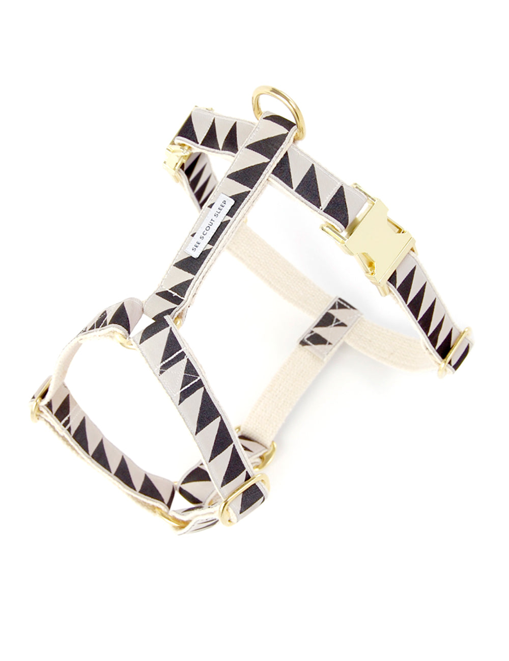 Nice Grill Harness | Cream & Black