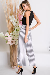 WORKING GIRL STRIPE PANTS