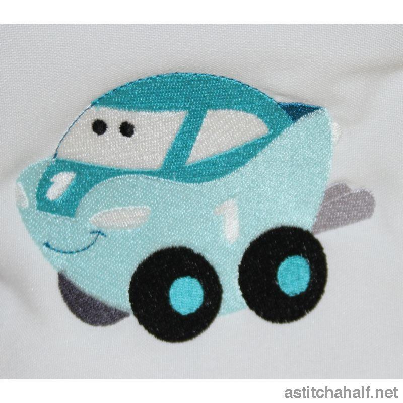 Cars Back Pack for Boys - a-stitch-a-half