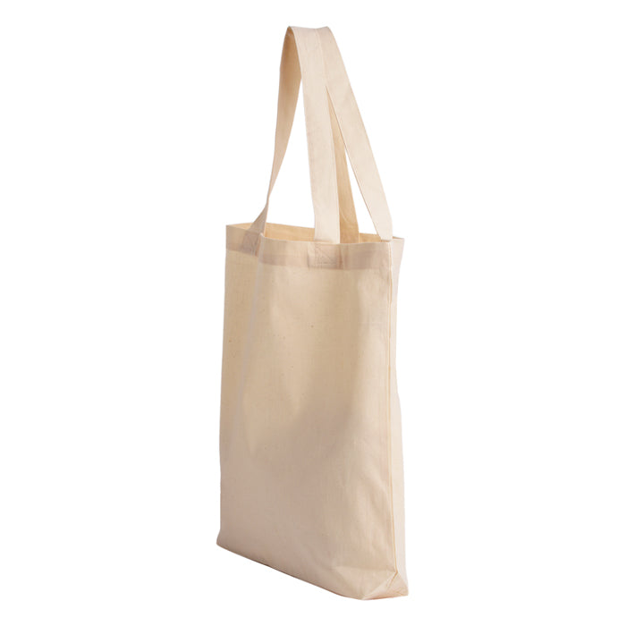 100% Cotton Economical Tote Bag with Gusset