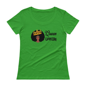 Queen Capricorn Scoop Neck Tee