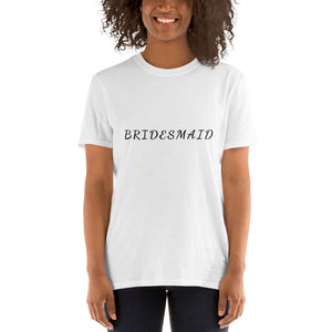 BRIDESMAID Short-Sleeve Unisex Tee