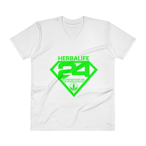 Men's Herbalife Superhero V-Neck Tee