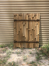 1.2m - Premium Black Bamboo Fencing Panels / Privacy Screening