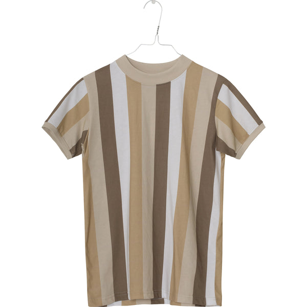 Devon T-shirt - Sesame Brown
