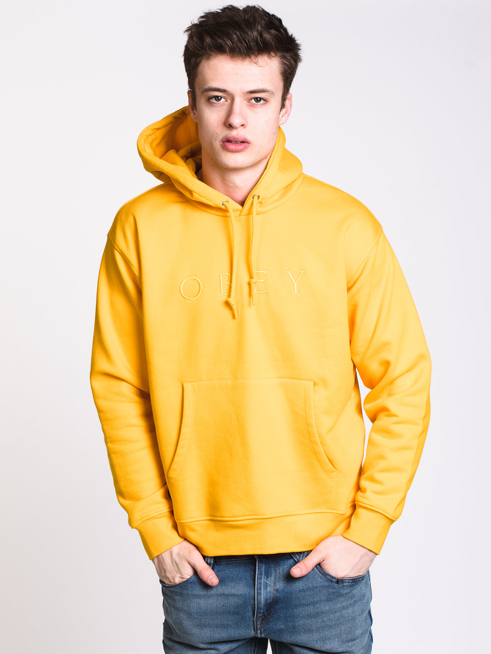 MENS JODIE Pullover HOOD - GOLD