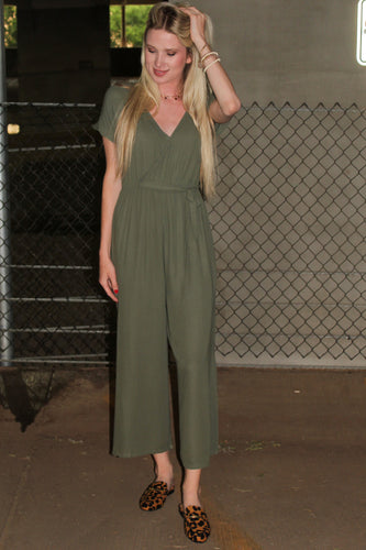Zia Jumpsuit (Forest Green)