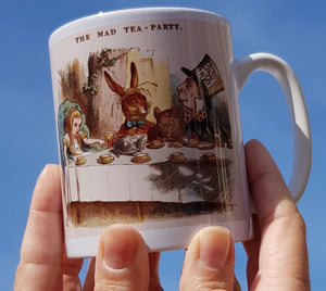 Alice Tea Party mug