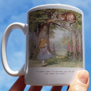 Alice Cheshire Cat mug