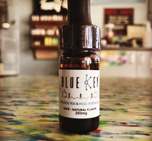 Blue Key™ CBD Vape Oil, 250mg, Natural Flavor