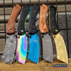 "Image of 8"" Classic Assisted Open Folding CLEAVER Pocket Knife"