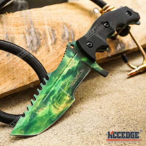 "5 COLORS 8.5"" MILITARY TACTICAL COMBAT COUNTER STRIKE CSGO HUNTSMAN RAZOR BLADE"