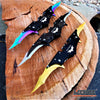 "Image of 11"" BATMAN DUAL BLADE Tactical POCKET KNIFE DARK NIGHT RISES"