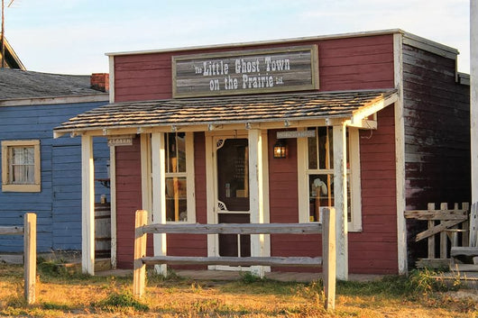 Little Ghost Town Red & White Store