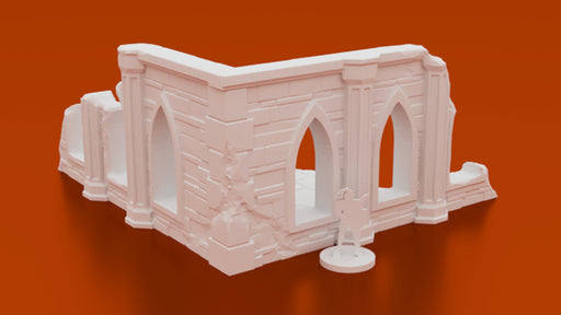 Corvus Games Terrain 3D printable Arcane Ruins fantasy terrain for Warhammer Age of Sigmar, Kill Team, 40K and Frostgrave