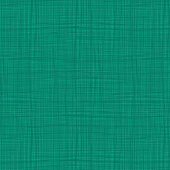 Linea Teal Yardage for Andover Fabrics -TP1525T6  - PRICE PER 1/2 YARD