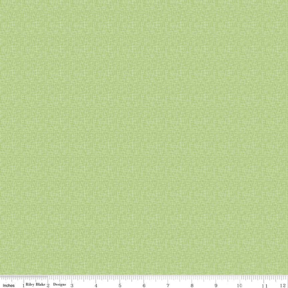 Hashtag Small Green Yardage by RBD for Riley Blake Designs C110 - PRICE PER 1/2 YARD