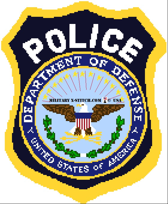Department Of Defense (DOD) Police Insignia