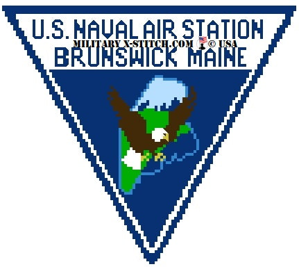 Naval Air Station Brunswick Maine Insignia