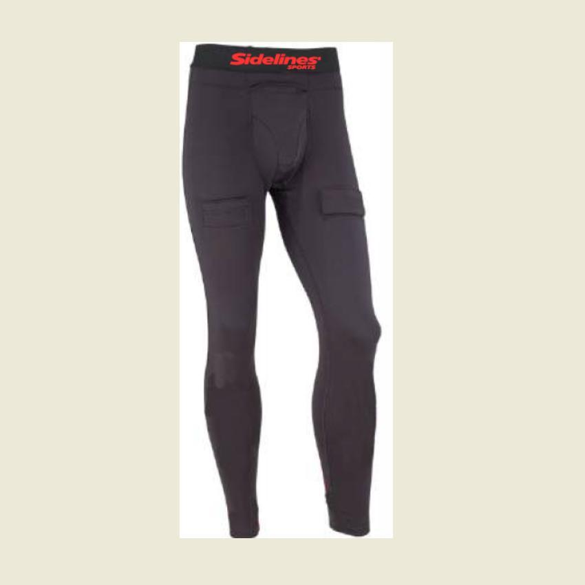 SIDELINES HOCKEY COMPRESSION PANT W/CUP -MENS XXLARGE Canada