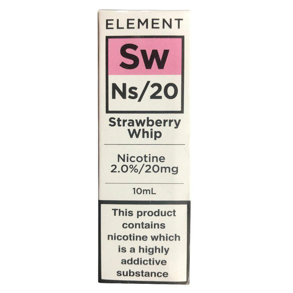 Element Ns20 - Strawberry Whip E Liquid-Fogfathers