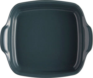 Emile Henry Ultime Rectangular Baking Dish Color: Blue Flame; Size: Square