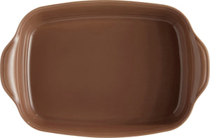 Emile Henry Ultime Rectangular Baking Dish Color: Oak; Size: Large Rectangle