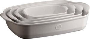 Emile Henry Ultime Rectangular Baking Dish Color: Flour