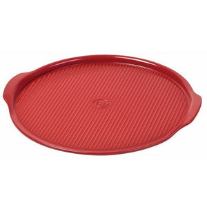 Emile Henry Pizza Stone Size: Large, Color: Burgundy