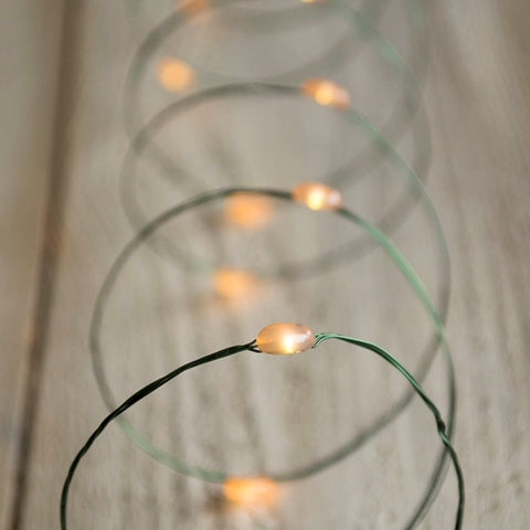 Fairy Lights, 6 Strand Spray, 180 LEDs, 9 ft, Plug In, Yellow