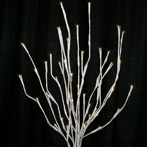 Winter Pine Cone Garland, LED lights, 6 feet,  Battery Op, Warm White