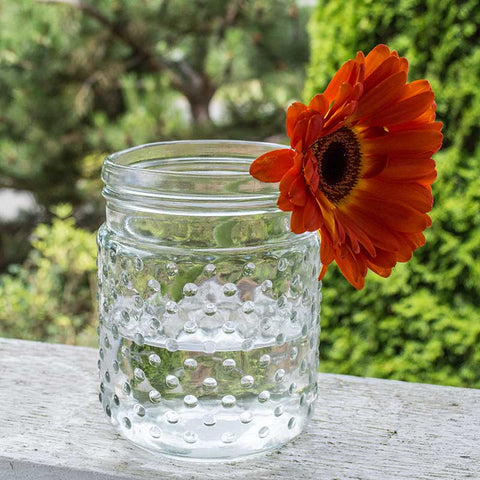 Vase Filler, 1/2 inch wide, Flat Bottom Glass Marble, 12 oz, Clear