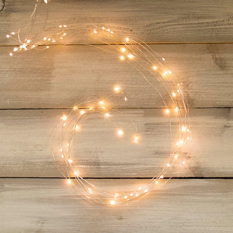 Fairy Lights, 10 Strand Spray, 120 LED, 6ft, Multifunction, Multicolor