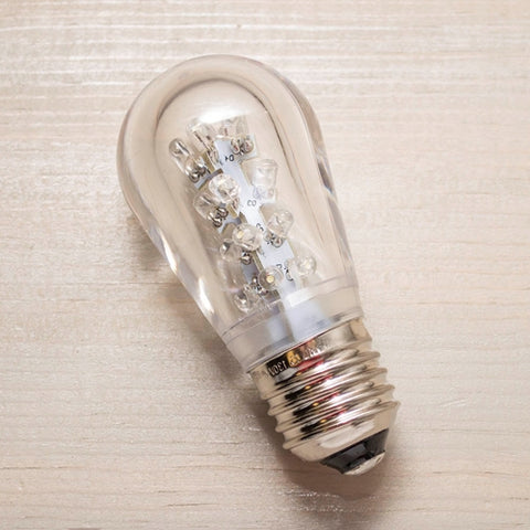 Replacement Globe Light Bulb, G50, 7W/130V, E12 Base, Pearl, 25 Pack
