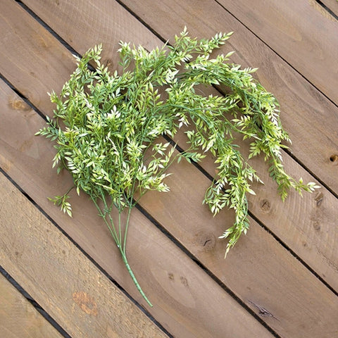 Veronica Spray, Faux Branch, Artificial Greenery, 32 inch, Green