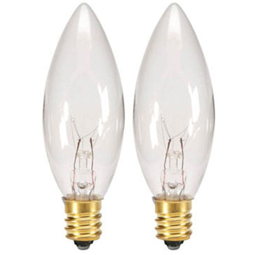 Replacement Bulbs for Cordless Welcome Candle Lamps, 3 volt DC, 2 Pack