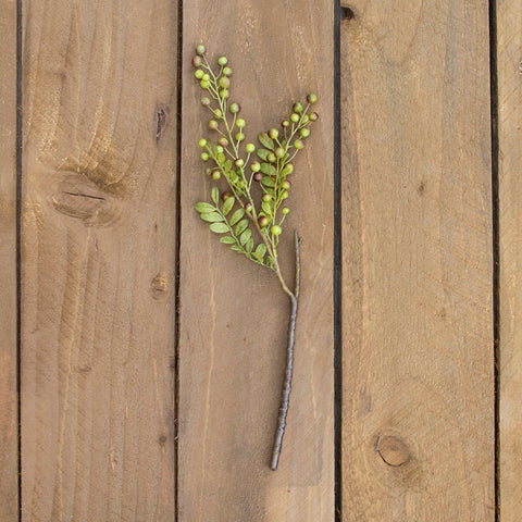 Twig & Moss Garland, Realistic Vine, 6 feet, Green & Brown