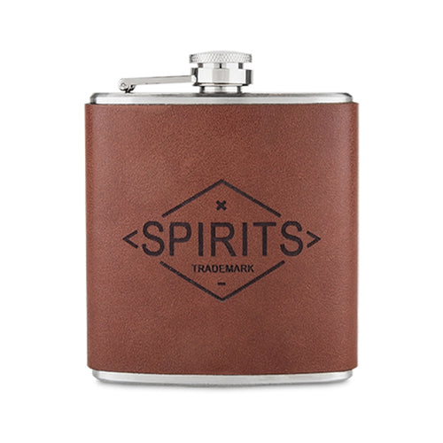 Genuine Leather Flask by