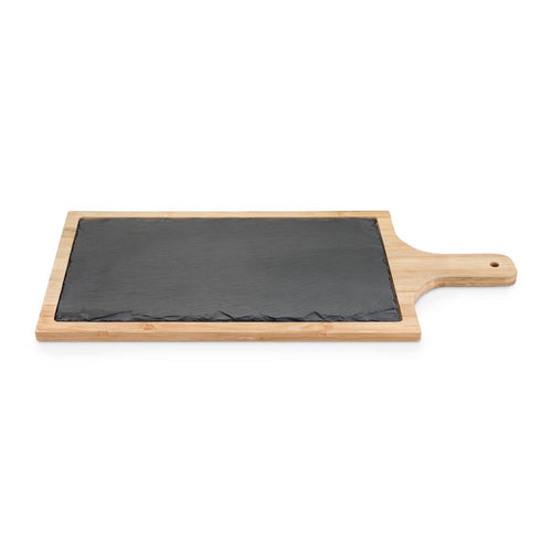 Trim Slate And Bamboo Cheese Board (Cutting Board, Serving Platter) by True