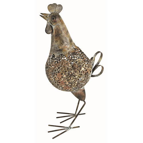 Rustic Farmhouse: Rooster Cork Holder