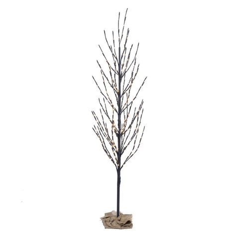 8 Foot Tall Multi-Function Flower Tree With 400 Warm White Lights