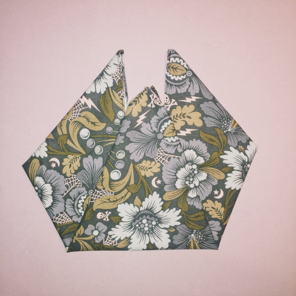 "18"" In Between Flowers Square Bandana"