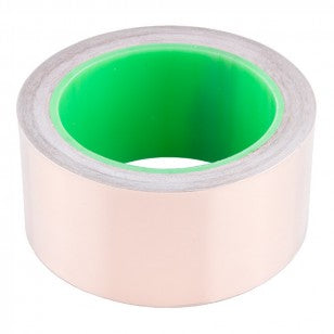 Copper Tape With Conductive Adhesive, 50mm (15m)