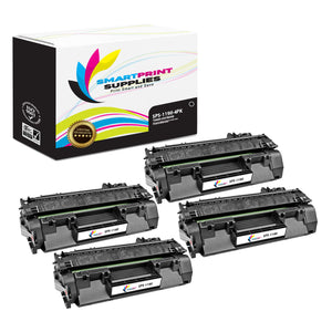 4 Pack  Canon 119II Replacement Black Toner Cartridge by Smart Print Supplies /6400 Pages